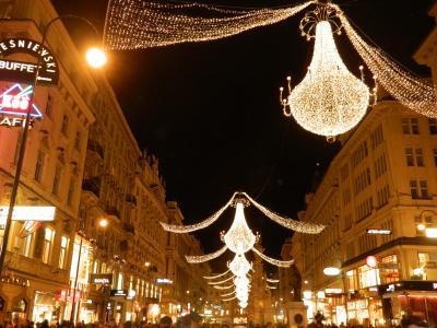 ウィーンのクリスマスイルミネーション 2011