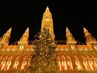 ウィーンのクリスマスマーケット 2011(ウィーン市庁舎前広場)