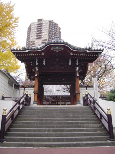 東京散歩:善福寺と泉岳寺