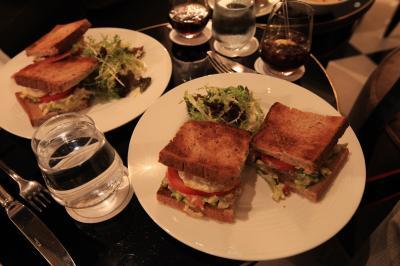 【欧州旅行21日目】 ◎ 凄く高いけど、とっても美味しいサンドウィッチ 「トリアノンパレス・ベルサイユ ~カフェ~」