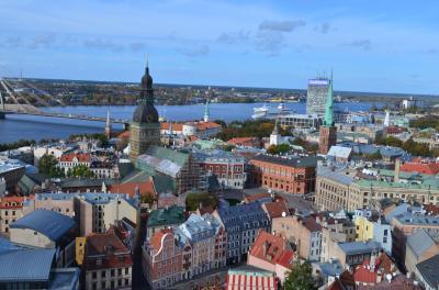 2歳子連れ11年ぶりのラトビア、そして北欧へ 18 ラトビアの首都リーガの旧市街