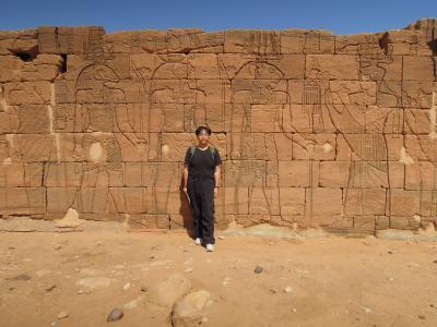 古代クシユ王国のナカ遺跡