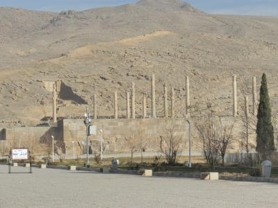ペルセポリスと地球温暖化(イラン、2011年12月)