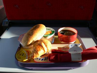 タリス&ユーロスターの機内食