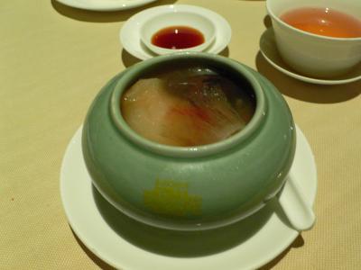 シンガポール リッツ・カールトン 夏宮(サマーパレス)のディナー