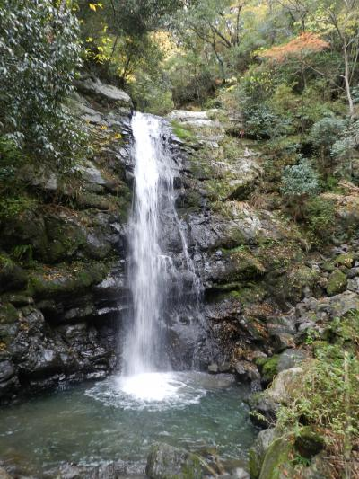 牛滝渓谷の滝群◆一の滝・二の滝・三の滝・錦流の滝(大阪府岸和田市)