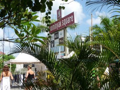 お仕事でバリ島へ。役得の旅!6日目。スミニャックあたりに繰り出してお買いもの~。