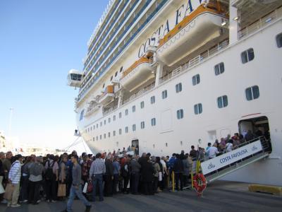 「コスタ・ファボローザ」で行くイタリアとその周辺の国々 2011年(5日目マルタ島編)