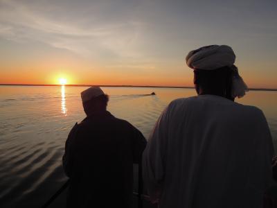 エジプト・アスワンへ18時間のフェリーの旅