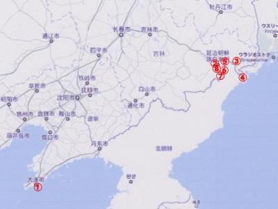 延吉・琿春・図們・龍井を訪ねる:旅たち前