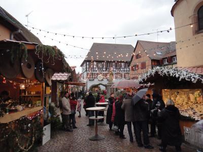 クリスマスシーズンのフランスを巡る旅(7)エーグイスハイム(Eguisheim)