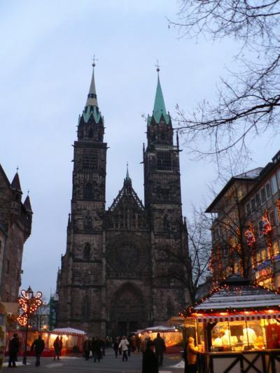 ドイツ、クリスマスマーケット巡り!ニュルンベルク編