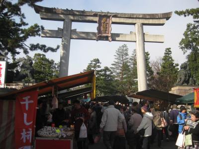 北野天満宮・終い天神 2011