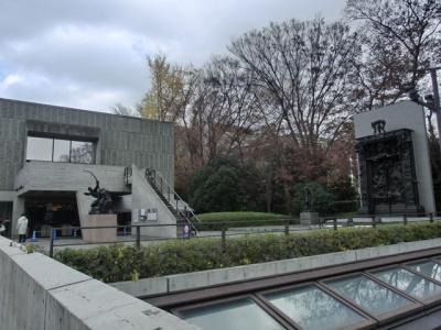 国立西洋美術館へ(2011年12月)