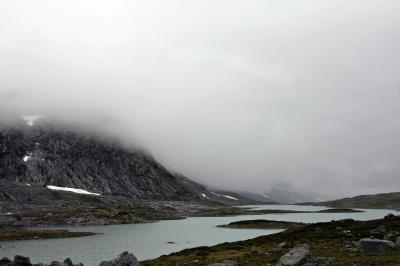 ノールフィヨルド 氷河を見ながらピクニック気分2  The Old Strynefjell Mountain Road  9/15