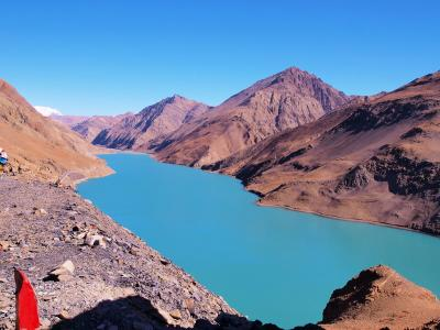 ラサ〜ダム1日目 Lhasa - Yamdrok Lake - Gyantse - Shigatse 320km