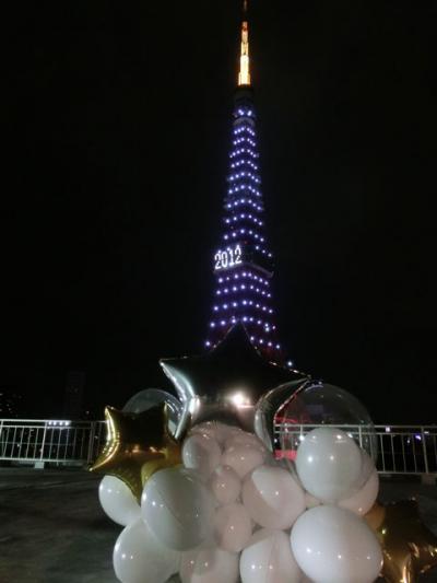増上寺であけましておめでとう(2012年1月)