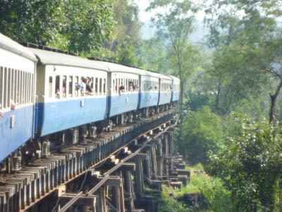 (●^o^●)自力気まぐれ カンナチャブリー鉄道の旅
