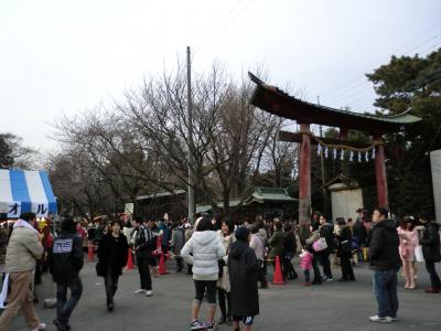埼玉県内2位の初詣客を誇る神社