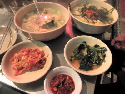 2011年末韓国チープな食い倒れ旅~お食事編~
