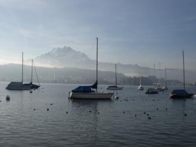 ルツェルン湖畔をちょっとドライブしてみました