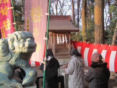2012年初詣に神明社と甘藷の神様を訪問