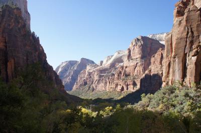 2011年秋、ラスベガス旅行記4【ザイオン国立公園へ その2 最初のトレッキングコース】