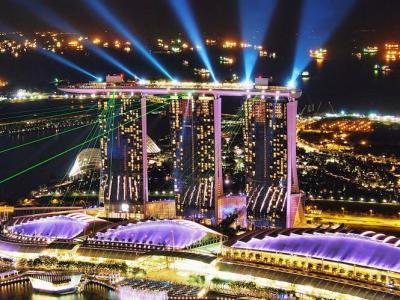 家族旅行 (特典航空券の旅) in Singapore <Vol. 2> (マリーナベイサンズ編)