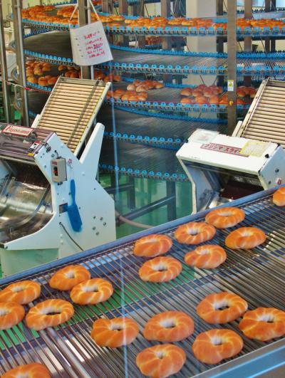 オギノパン 最新鋭のパン製造工程を見学 ☆丹沢あんぱんが人気
