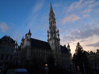 EU4カ国と韓国の旅9日間・・・・・・ベルギー(ブリュッセル)編その1