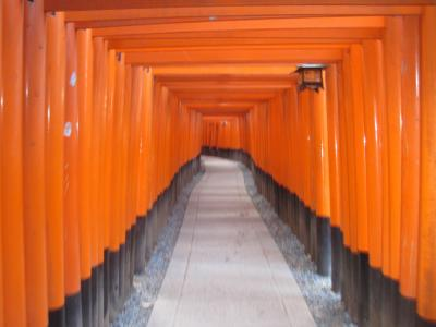 京都 冬の旅(伏見稲荷大社と三十三間堂)