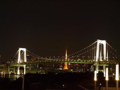 東京へ…400㎞の旅=②お台場=