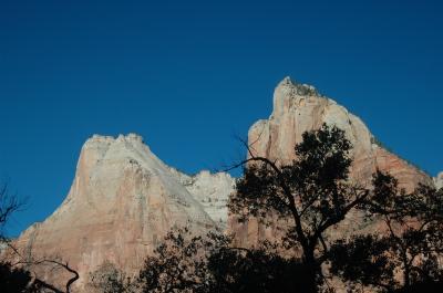 グランドサークル Zion Bryce Antelope Grand canyon  ザイオン編