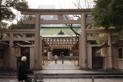 摂津国一の宮 坐摩神社 参拝 2012