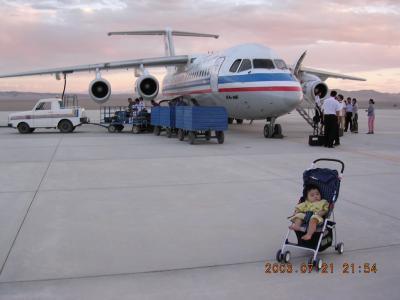 北京~西安~敦煌 赤ん坊にやさしい中国国内線