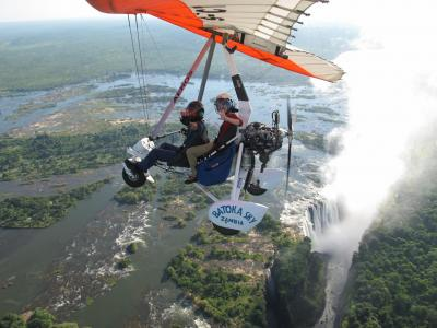 Fly me to the Victoria Falls in Zambia