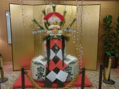 東京大神宮にて2012年初詣&お宮参り