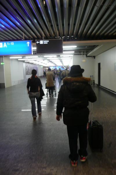 雨のベルリン、ドレースデン2011 ? フランクフルト・アム・マイン国際空港