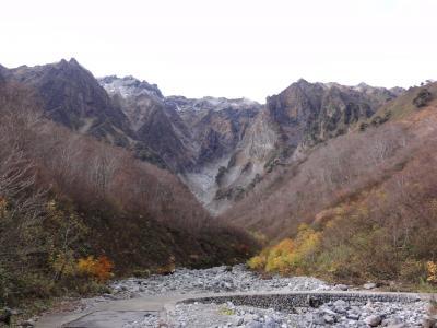 2011.11.10 諏訪峡、谷川岳一の倉沢、藤原湖、法師温泉