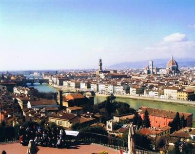 2003年、早春のイタリアとちょこっとパリ 2 フィレンツェ