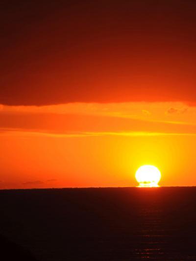 海に沈む夕陽IN堂ヶ島