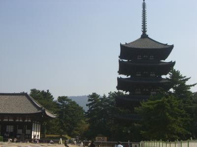 三重・奈良・京都 一人旅  その3 奈良 ~奈良市内~