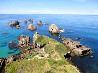 2012年新年 ニュージーランド大自然へ再び::12/25(Day3):サザンシーニックルート ダニーデン→キュリオベイ