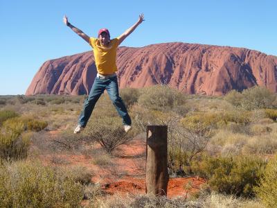 Ayars Rock in Australia