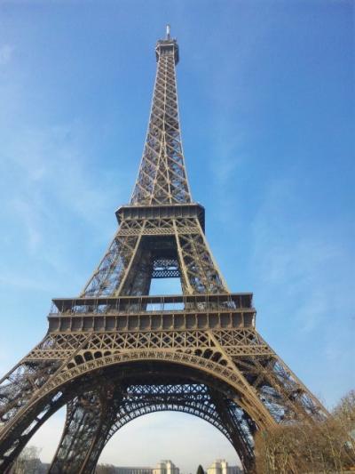初めてのヨーロッパ旅行は「パリ」ですよ♪【出発~1日目】