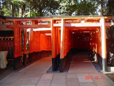 もうすぐクリスマス、なので京都であえてはんなり?の旅②伏見編