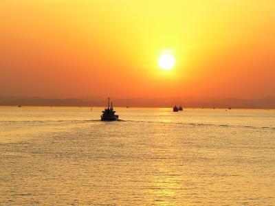 【香川県(瀬戸内)】日本で一番綺麗な瀬戸内海の夕日