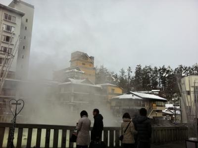 雪見露天風呂@草津