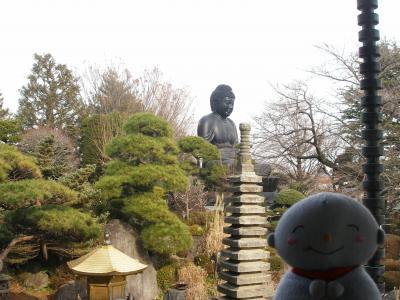 東京大仏と赤塚散策