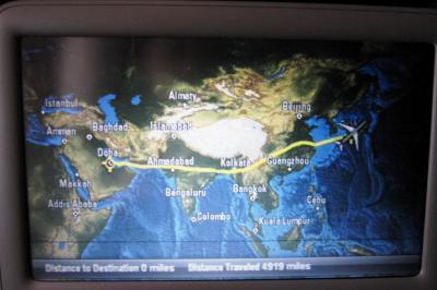 2012正月、モロッコ王国旅行記(45:本文完):1月13日:帰国:カタールから関西国際空港へ